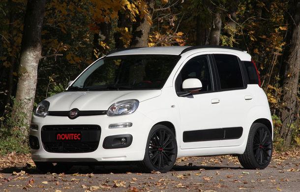 Fiat Panda by Novitec Rosso: 99 de cai putere din doi cilindri - Poza 1