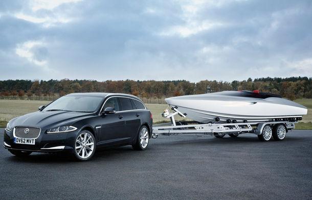 Jaguar a proiectat o ambarcaţiune drept accesoriu pentru XF Sportbrake - Poza 1
