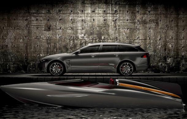 Jaguar a proiectat o ambarcaţiune drept accesoriu pentru XF Sportbrake - Poza 2