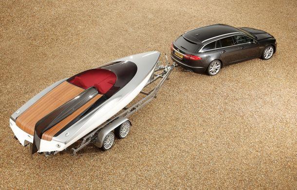 Jaguar a proiectat o ambarcaţiune drept accesoriu pentru XF Sportbrake - Poza 4