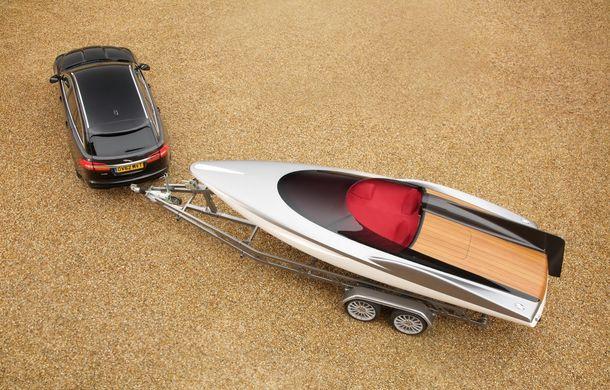 Jaguar a proiectat o ambarcaţiune drept accesoriu pentru XF Sportbrake - Poza 6