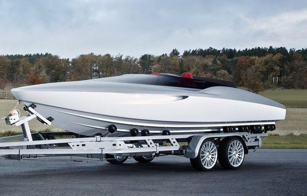 Jaguar a proiectat o ambarcaţiune drept accesoriu pentru XF Sportbrake - Poza 12