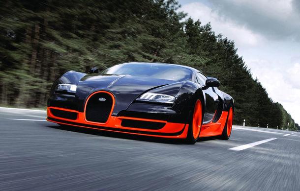 Bugatti pregăteşte un super Veyron de 1600 cai putere - Poza 1