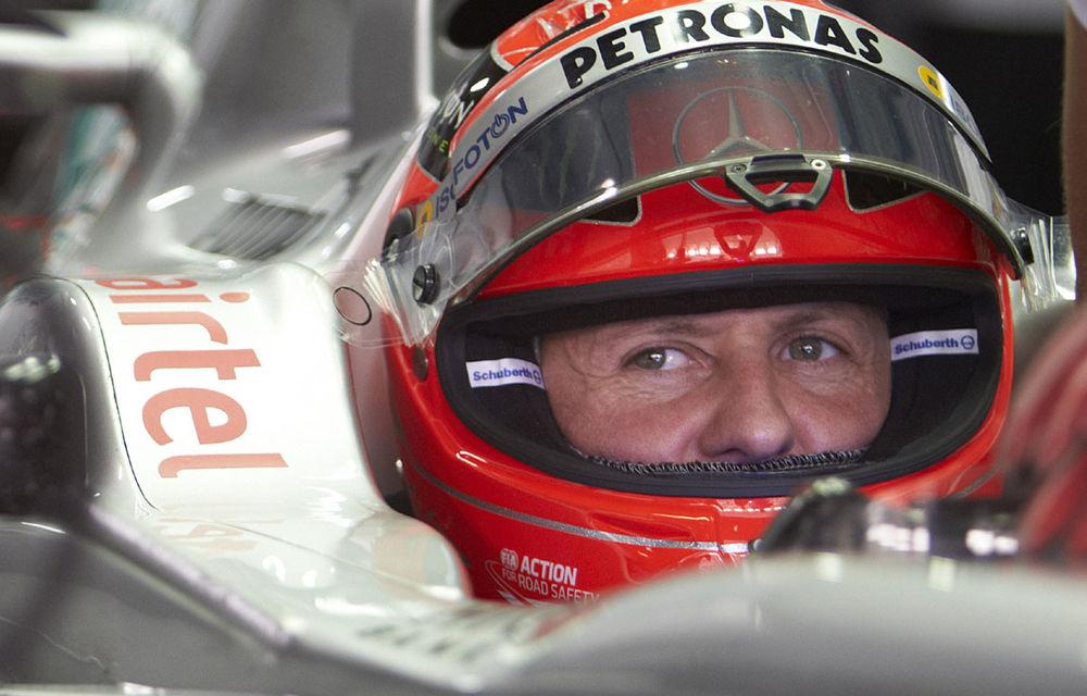 Schumacher speră să obţină un rezultat bun în Abu Dhabi - Poza 1