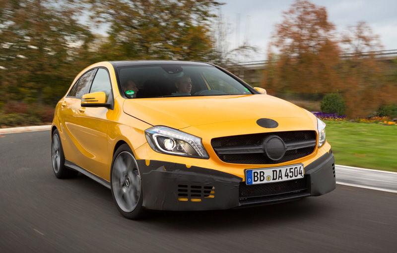 Mercedes A45 AMG, primele poze şi informaţii oficiale: 354 CP şi 45.000 de euro - Poza 3