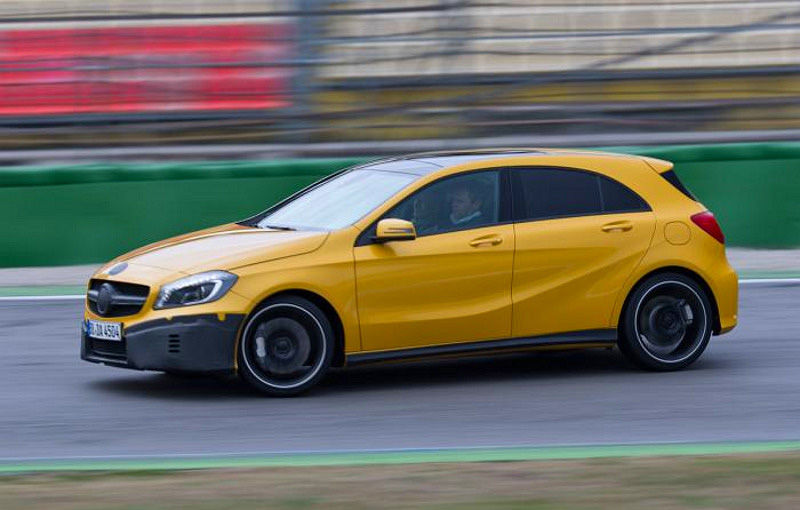 Mercedes A45 AMG, primele poze şi informaţii oficiale: 354 CP şi 45.000 de euro - Poza 5