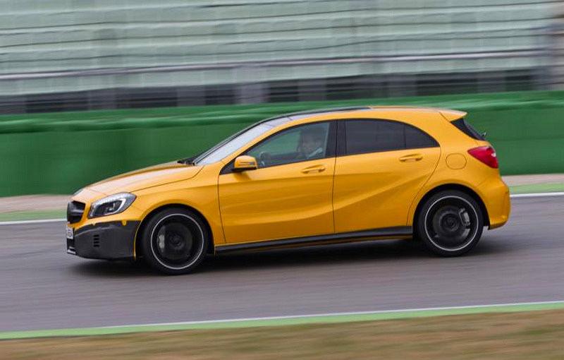 Mercedes A45 AMG, primele poze şi informaţii oficiale: 354 CP şi 45.000 de euro - Poza 4
