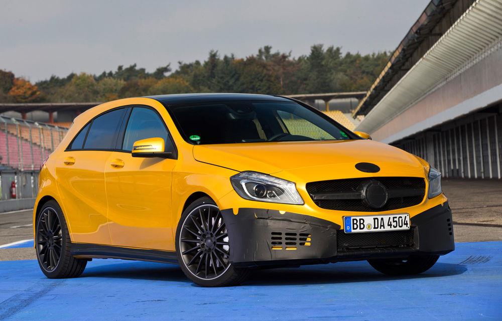Mercedes A45 AMG, primele poze şi informaţii oficiale: 354 CP şi 45.000 de euro - Poza 1