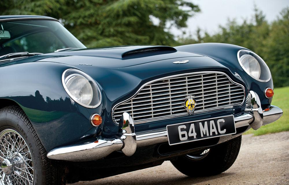 Aston Martin DB5 deținut de Paul McCartney vândut la licitație pentru 307.000 lire sterline - Poza 16