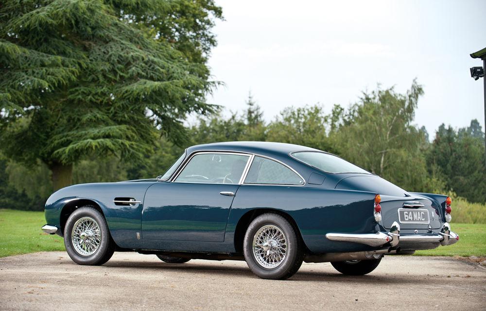 Aston Martin DB5 deținut de Paul McCartney vândut la licitație pentru 307.000 lire sterline - Poza 2