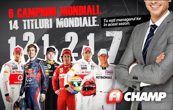 F1 Champ: Câștigătorii etapei a 18-a - Poza 1