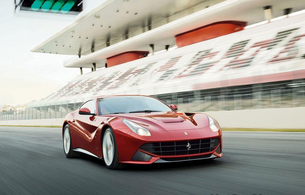 Primul Ferrari F12 Berlinetta livrat în SUA va fi licitat pentru victimele Uraganului Sandy - Poza 1