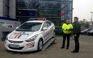 Poliţia Ilfov a primit un Hyundai Elantra