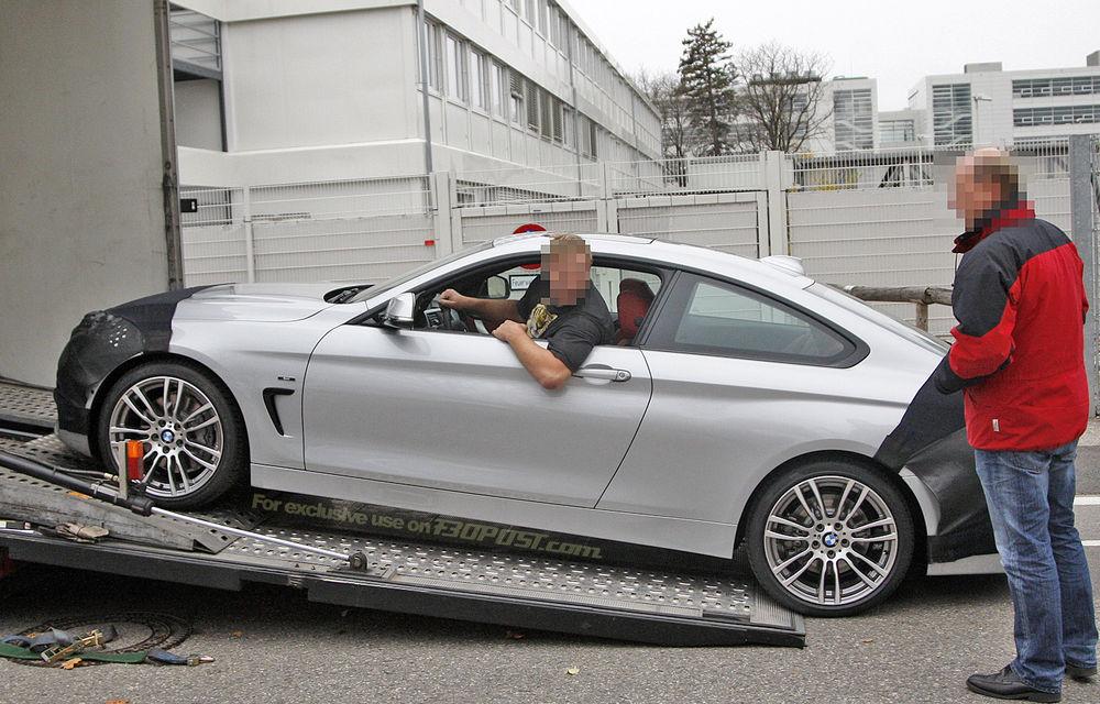 FOTOSPION: Primele imagini ale viitorului BMW Seria 4 - Poza 4
