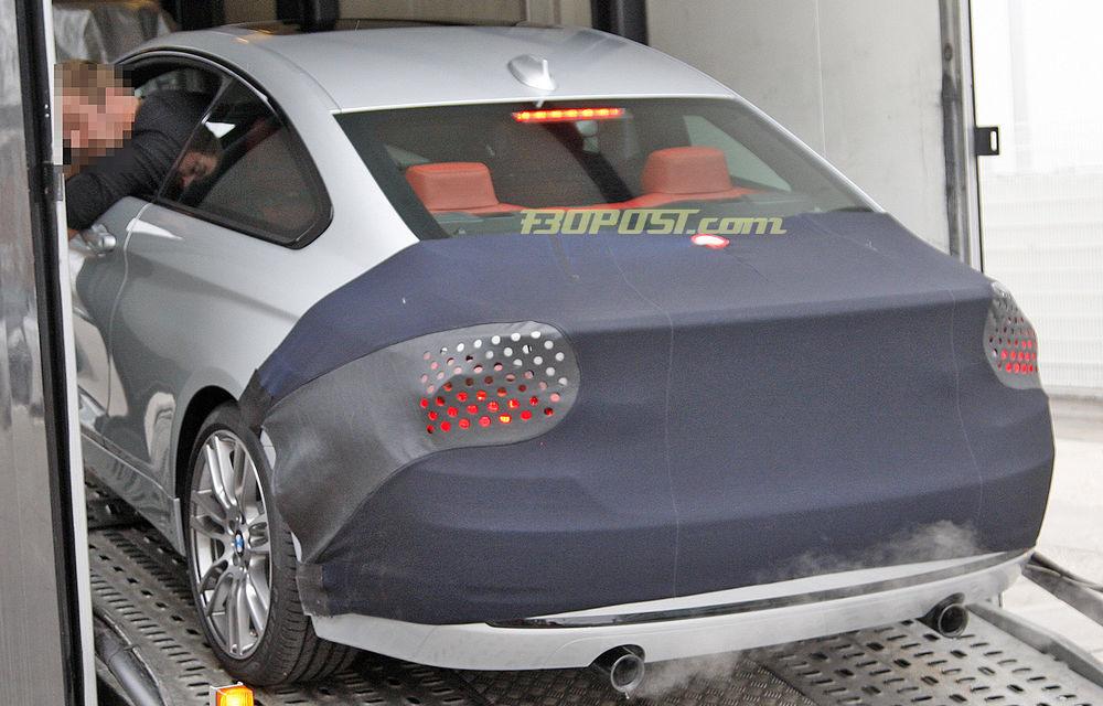 FOTOSPION: Primele imagini ale viitorului BMW Seria 4 - Poza 6