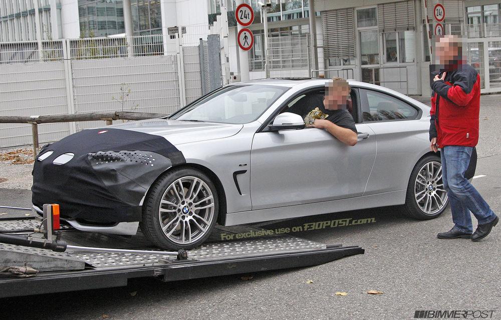 FOTOSPION: Primele imagini ale viitorului BMW Seria 4 - Poza 2