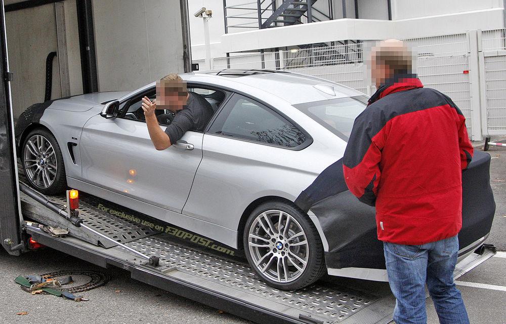 FOTOSPION: Primele imagini ale viitorului BMW Seria 4 - Poza 5