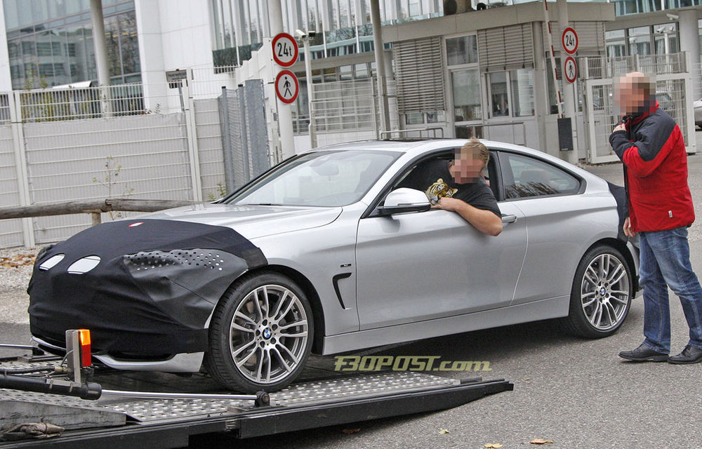FOTOSPION: Primele imagini ale viitorului BMW Seria 4 - Poza 1