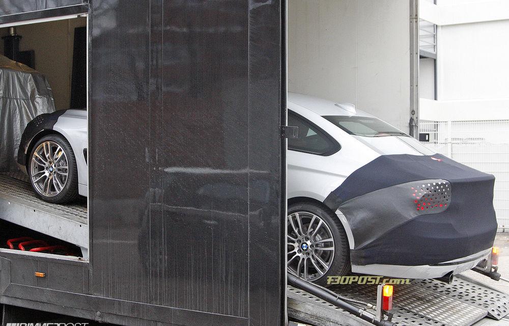FOTOSPION: Primele imagini ale viitorului BMW Seria 4 - Poza 8