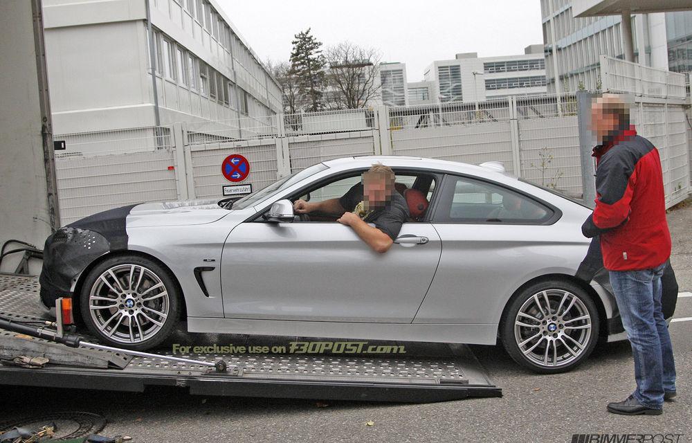 FOTOSPION: Primele imagini ale viitorului BMW Seria 4 - Poza 3