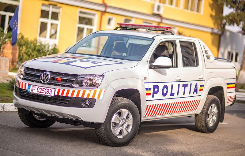 Poliţia Prahova a primit un Volkswagen Amarok de intervenţie - Poza 1