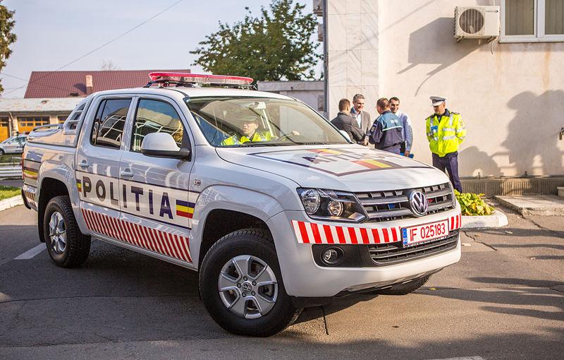Poliţia Prahova a primit un Volkswagen Amarok de intervenţie - Poza 2