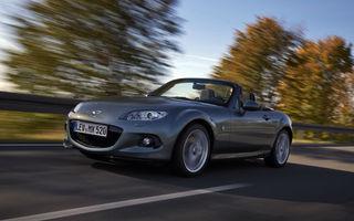 Mazda MX-5 facelift a debutat pe piaţa din Europa