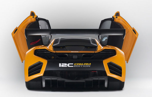 McLaren MP4-12C Can-Am GT - ediție limitată dedicată curselor pe circuit - Poza 12