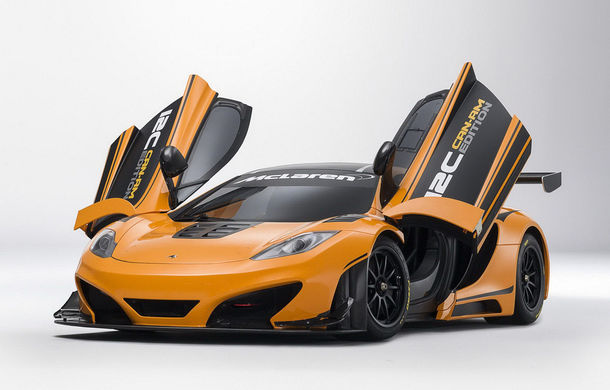 McLaren MP4-12C Can-Am GT - ediție limitată dedicată curselor pe circuit - Poza 4