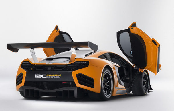 McLaren MP4-12C Can-Am GT - ediție limitată dedicată curselor pe circuit - Poza 10