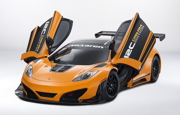 McLaren MP4-12C Can-Am GT - ediție limitată dedicată curselor pe circuit - Poza 5