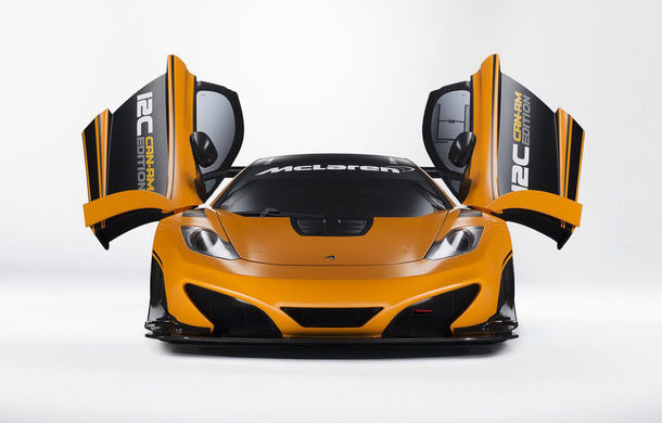 McLaren MP4-12C Can-Am GT - ediție limitată dedicată curselor pe circuit - Poza 7
