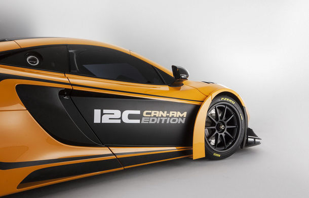 McLaren MP4-12C Can-Am GT - ediție limitată dedicată curselor pe circuit - Poza 13