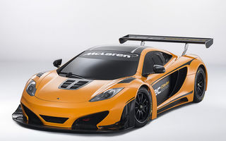 McLaren MP4-12C Can-Am GT - ediție limitată dedicată curselor pe circuit