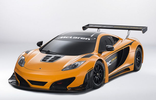 McLaren MP4-12C Can-Am GT - ediție limitată dedicată curselor pe circuit - Poza 1