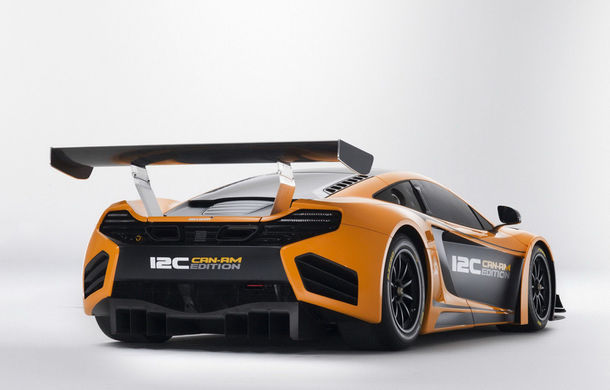 McLaren MP4-12C Can-Am GT - ediție limitată dedicată curselor pe circuit - Poza 9