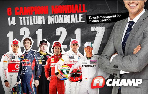 F1 Champ: Câștigătorii etapei a 19-a - Poza 1