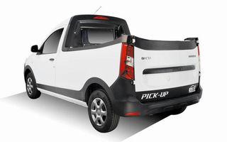 Dacia Dokker Van, transformat în Pick-up şi basculantă de carosierul francez Kollé