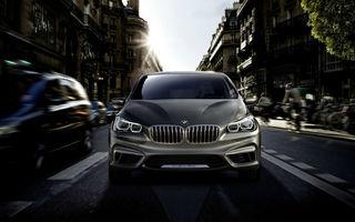 BMW va construi până la 12 modele în baza platformei cu tracţiune faţă