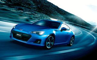 Subaru BRZ STi, aşteptat să debuteze în 2013 cu un motor de 230 CP
