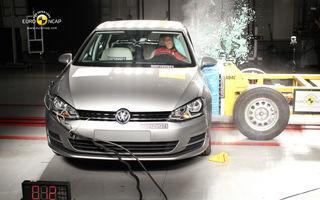 EuroNCAP: 14 modele au obţinut 5 stele de siguranţă, Lodgy a obţinut 3 stele