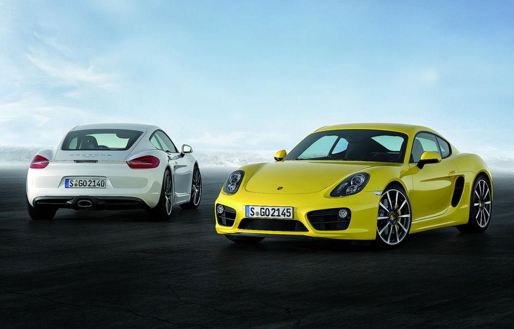 Porsche Cayman, imagini noi cu a treia generaţie - Poza 1