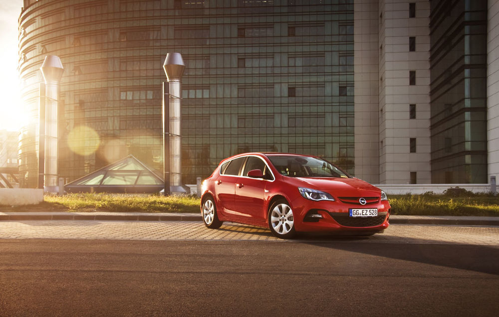 Opel Astra facelift (2012-2015)