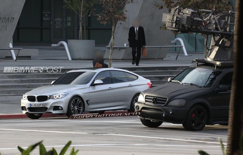 BMW Seria 3 GT, primele imagini spion - Poza 8