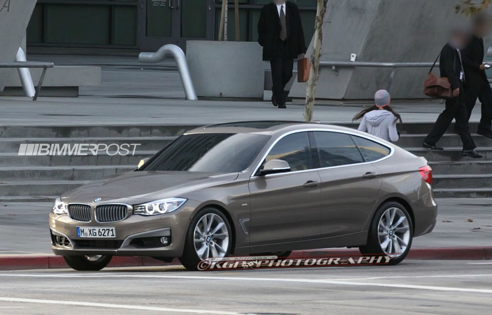 BMW Seria 3 GT, primele imagini spion - Poza 1