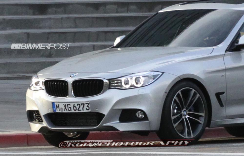 BMW Seria 3 GT, primele imagini spion - Poza 10