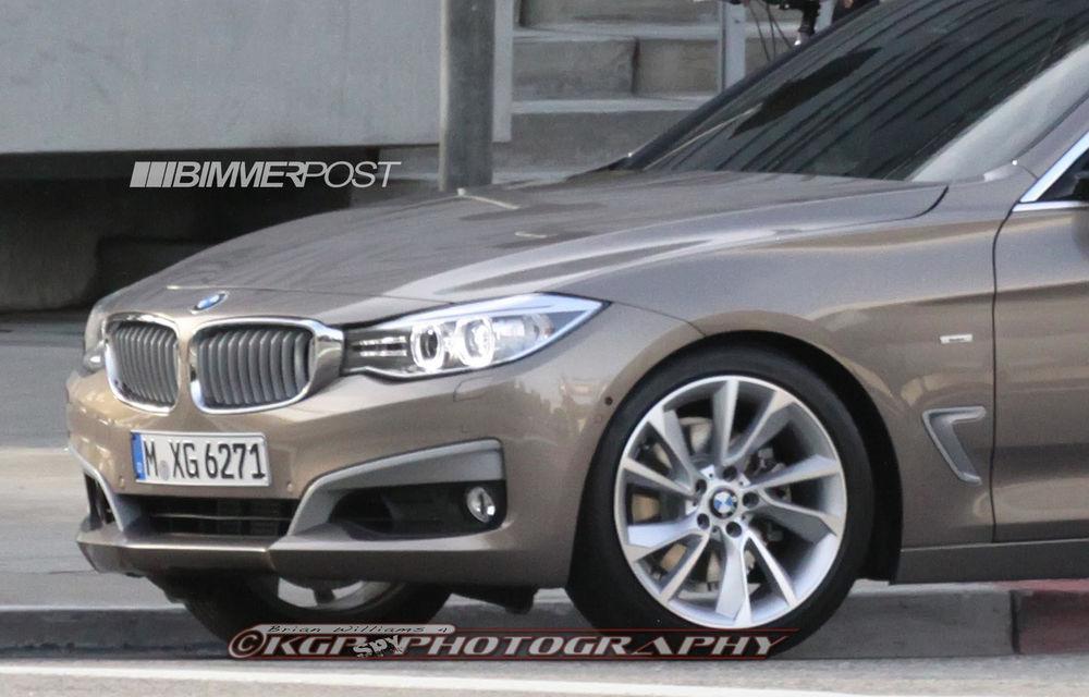 BMW Seria 3 GT, primele imagini spion - Poza 4