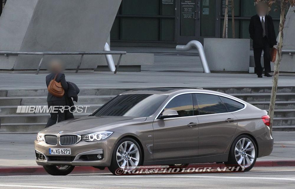 BMW Seria 3 GT, primele imagini spion - Poza 3
