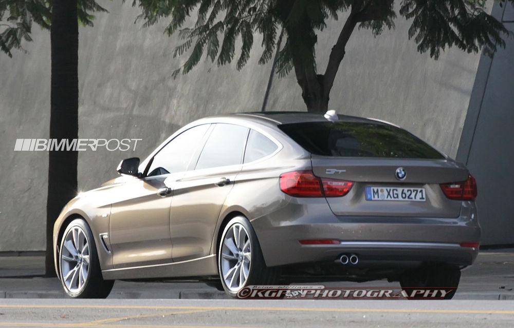 BMW Seria 3 GT, primele imagini spion - Poza 2