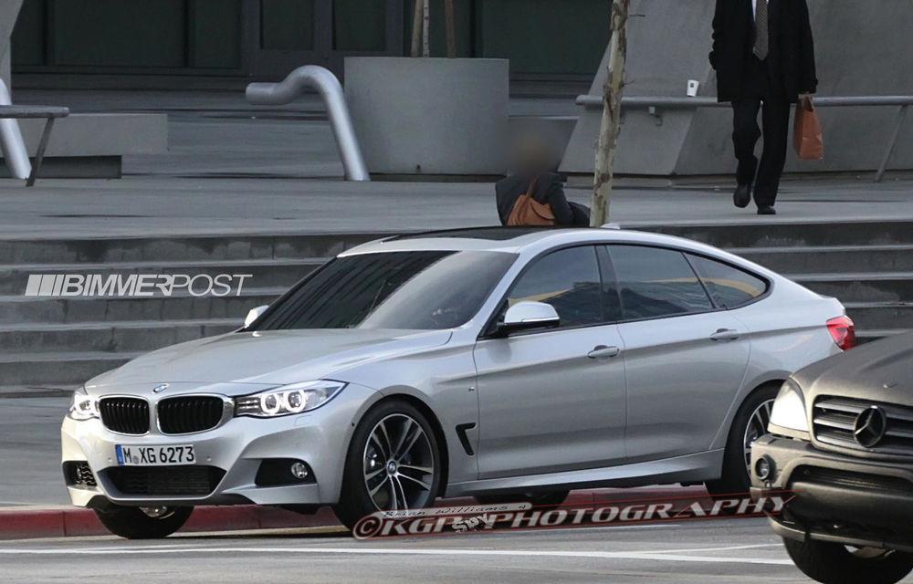 BMW Seria 3 GT, primele imagini spion - Poza 9